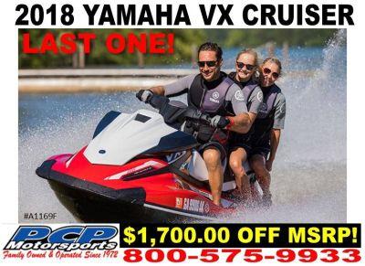 2018 Yamaha VX Cruiser 3 Person Watercraft Sacramento, CA