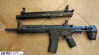 For Sale: Matched Billet set / 300 blackout / .223 5.56 AR-15 Pistol
