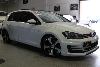 2015 Volkswagen Golf Gti 2.0T Autobahn w/Performance Pa (Pure White)