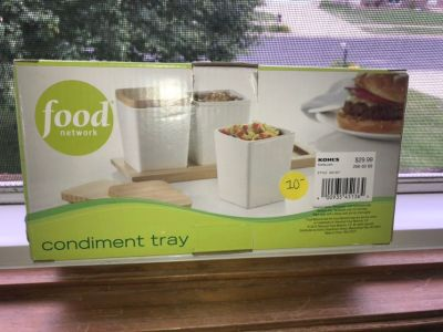 NWT Condiment Tray