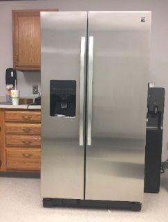 Kenmore 25 Cubic Ft. Stainless Steel Refrigerator