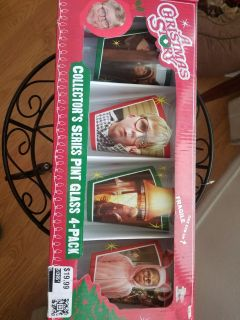 A Christmas Story Pint Glass Set
