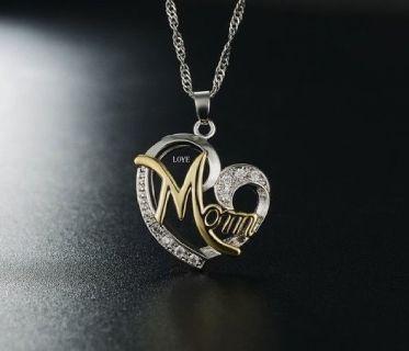 Luxury high quality MOM AAA Zircon Necklace