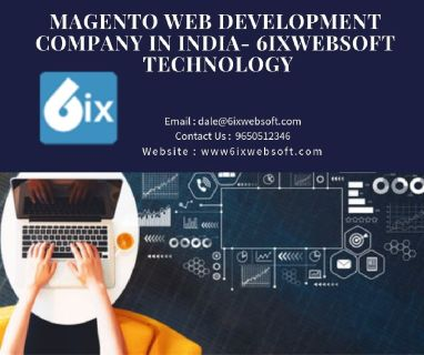 Magento Web Development Company in India- 6ixwebsoft Technology