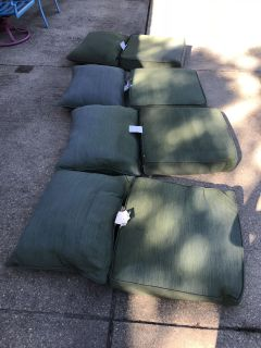 (4) ALLEN ROTH Deep Seat Outdoor Patio Furniture Cushions