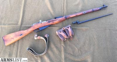 For Sale: Mosin Nagant 91/30 All Matching Izhevsk 1927 Hex Receiver