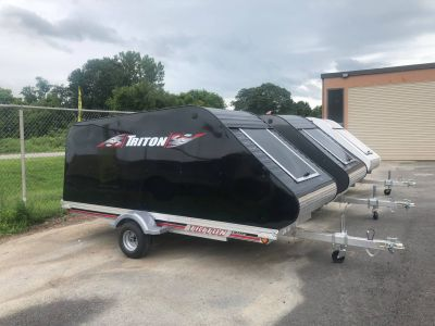 2018 Triton Trailers Elite5 Trail/Touring Sport Utility Trailers Herkimer, NY