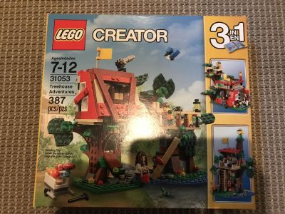 LEGO treehouse, new in box