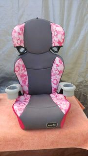 Evenflo Big Kid sport car seat with cup holders