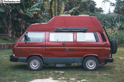 1990 Vanagon T3 California- Diesel - 162000 miles