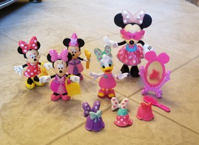 Fisher Price Minnie Mouse & Daisy Playsets