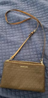 Authentic Michael Kors crossbody bag and wallet