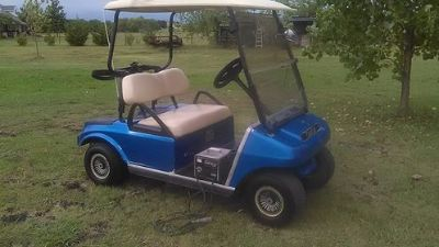 GOLF CART-NICE-CLUB CAR-