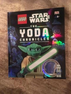 Lego Star Wars - The Yoda Chronicles large hardcover - book only - no minifigure