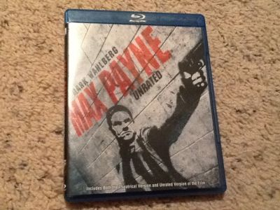 Max Payne BluRay