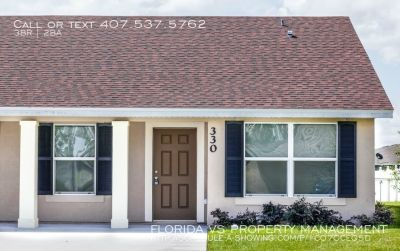 Single-family home Rental - 330 Dundee Dr.