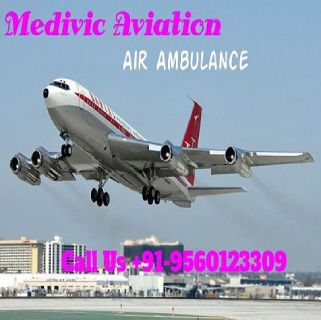 Medivic Aviation Air Ambulance Services in Bagdogra