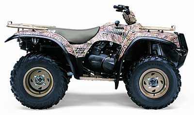 2004 Kawasaki Prairie 700 4x4 HDW ATV Utility ATVs Lancaster, NH