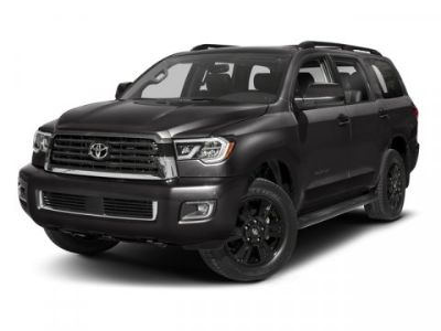 2018 Toyota Sequoia SR5 (Midnight Black Metallic)