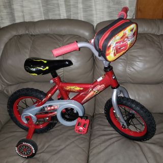 12 inch Lightning McQueen Boys Bike