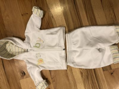 Baby fleece outfit
