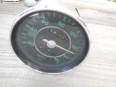 Porsche 356 Original VDO Speedometer 160 m/h