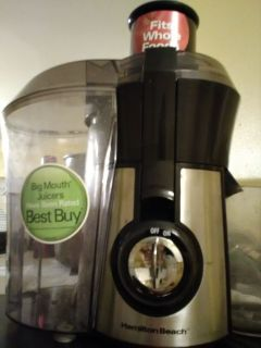 Hamilton Beach Juicer Like New Big Mouth