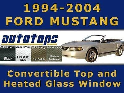 Purchase Mustang Convertible Top And Heated Glass New Kit 94-04 PADS AND CABLES motorcycle in Shamokin, Pennsylvania, US, for US $380.00