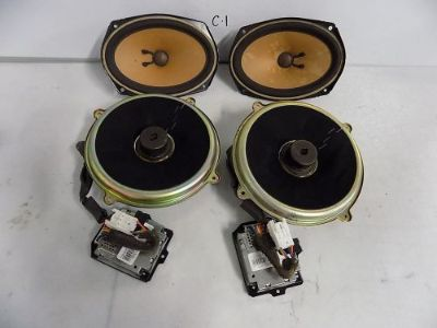 Purchase INTERIOR SPEAKER SET OF 4 BOSE MAZDA RX8 2004 2005 2006 2007 2008 2009 motorcycle in Terrell, Texas, United States, for US $209.95