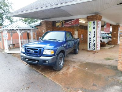 2007 Ford Ranger XLT (Blue)