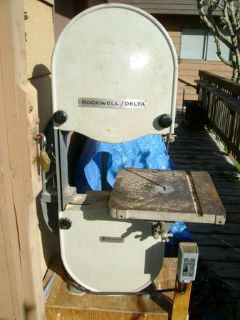 Wanted Delta Rockwell 14 Bandsaw for Parts