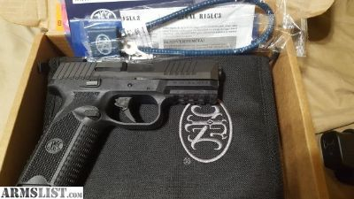 For Sale/Trade: FN 509 with TFX pro night sights and 5 mags.