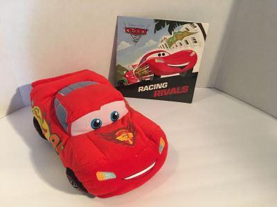 Cars book and Plush