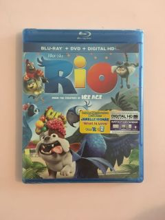 NEW Rio DVD and Blu-Ray
