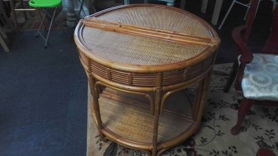 Cresent end tables