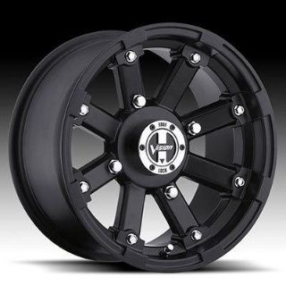 "Purchase 14"" Vision 393 Lock Out ATV Wheels 14X7 4X156 BS4"" Matte Black 393-147156MB4 motorcycle in Holt, Michigan, US, for US $105.00"