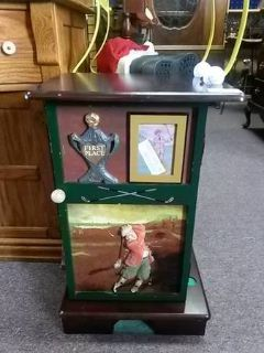 Golf End Table