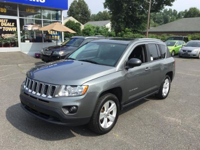 2012 Jeep Compass Latitude (Mineral Gray Metallic)