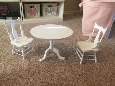 Our Generation Doll Table Set