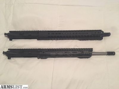 "For Sale: Radical Firearms 16"" 300 Blackout Upper and BCA/MSF 16"" 223 WYLDE Upper"