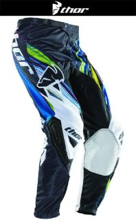 Find Thor Phase Vented Wired Blue Black Green Sizes 28-44 Dirt Bike Pants Motocross motorcycle in Ashton, Illinois, US, for US $99.95