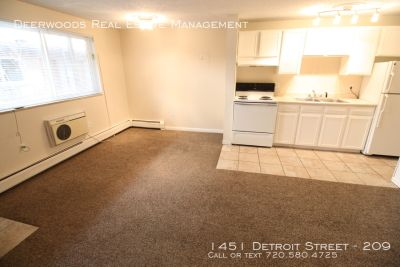 1BR Apartment Located Between Cherry Creek North and Denver City Park!