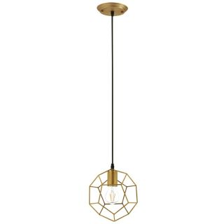 New Gold Rod Pendant Lamp Includes FedEx Shipping