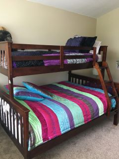Dorco Full/Twin Bunk Bed