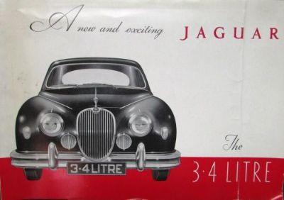 Find Original 1958 Jaguar Dealer Sales Brochure 3.4 Litre B Engine Rare motorcycle in Holts Summit, Missouri, United States, for US $22.58