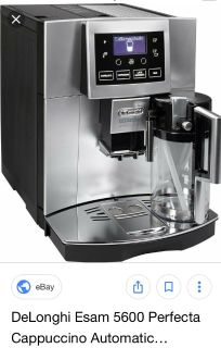 DeLonghi Perfecta One Touch Automatic Cappuccino & coffee espresso machine ESAM 5600.S