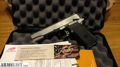 For Sale: kimber 45 double stack