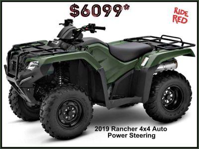 2019 Honda FourTrax Rancher 4x4 DCT EPS ATV Utility Erie, PA