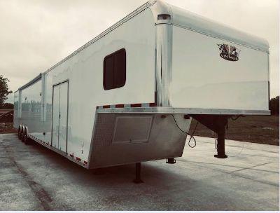 2017 Cargo Mate 53' Gooseneck, Loaded