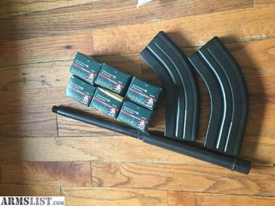 For Sale: C Products Defense 7.62x39 AR Magazines Brass Cased Ammo Bear Creek Arsenal Barrel